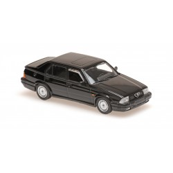 Alfa Romeo 75 V6 America 1987 Black Minichamps 940120460