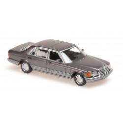 Mercedes Benz 560 SEL 1990 Purple Metallic Minichamps 940039301