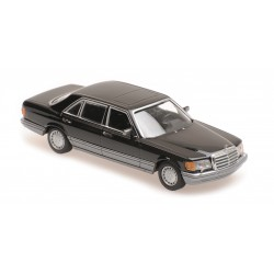 Mercedes Benz 560 SEL 1990 Black Minichamps 940039300
