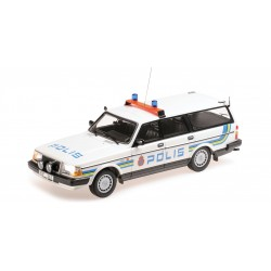 Volvo 240 GL Break Polis Sweden 1986 Minichamps 155171480