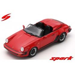 Porsche 911 3.2 Speedster Turbo Look 1989 Rouge Spark S4471