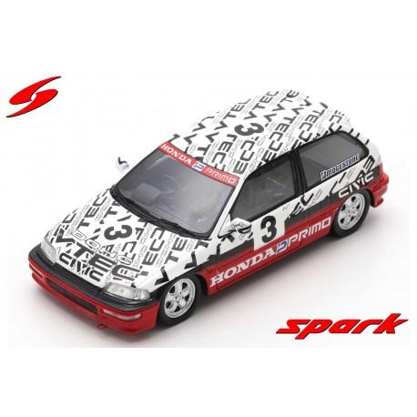 Honda Civic EF9 3 Group N Suzuka Circuit Test 1990 Satoru Nakajima Spark S5459