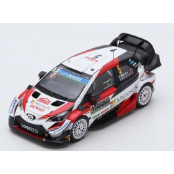 Toyota Yaris WRC 5 Rallye Monte Carlo 2019 Meeke Marshall Spark S5976
