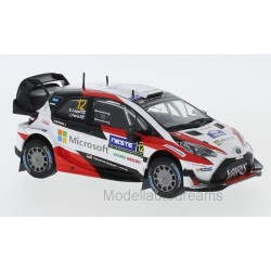 Toyota Yaris WRC 12 Rallye de Finlande 2017 Lappi Ferm IXO RAM656