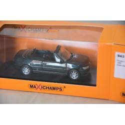 Peugeot 306 Cabriolet 1998 Verte Minichamps 943112833