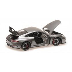 Porsche 911 GT3 2017 Grey Metallic Minichamps 110067034