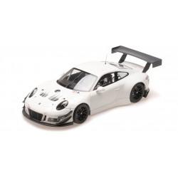 Porsche 911 GT3R Plainbody version White Minichamps 155186900