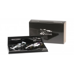 Set 40eme anniversaire Williams Ford FW06 Jones 1978 Williams Mercedes FW40 Massa 2017 Minichamps 412177840