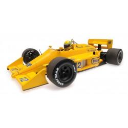 Lotus Honda 99T F1 Monaco 1987 Ayrton Senna Minichamps 540871892