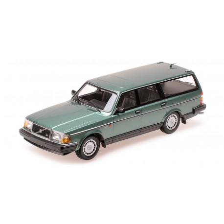 Volvo 240 GL Break 1986 Green Metallic Minichamps 155171410