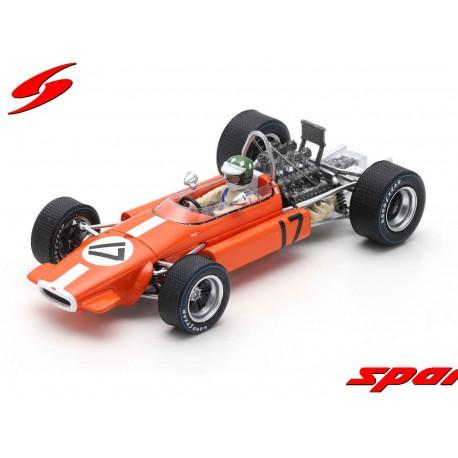 Brabham BT24 17 F1 Monaco 1969 Silvio Moser Spark S5267