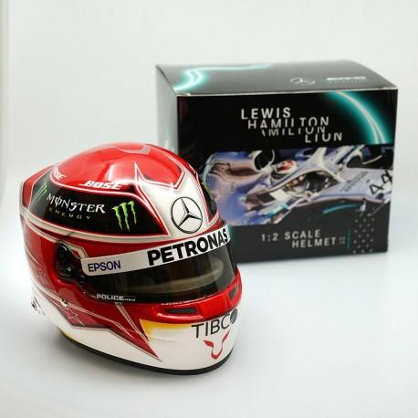 Casque Helmet 1/2 Lewis Hamilton F1 2019 Bell