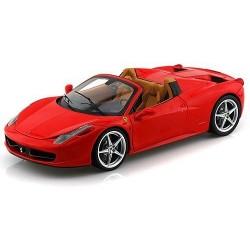 Ferrari 458 Spider 2012 Rouge Hotwheels BCJ89