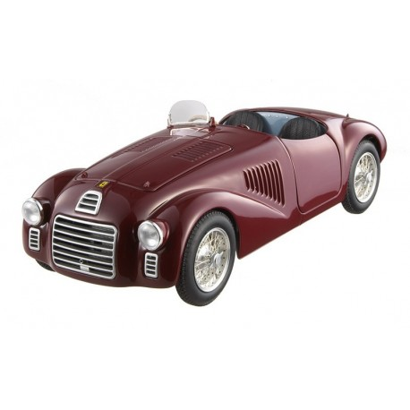 Ferrari 125 S 1947 Rouge Hotwheels ML7118