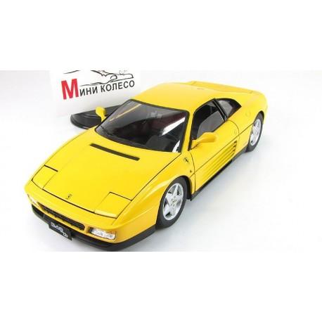 Ferrari 348 TB 1989 Jaune Hotwheels MV7437