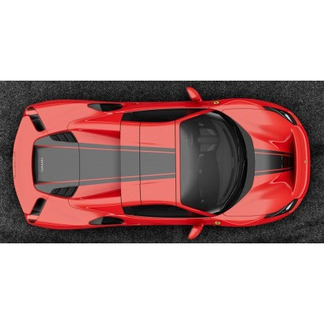 Ferrari 488 Pista 1:43 Looksmart Rosso Corsa