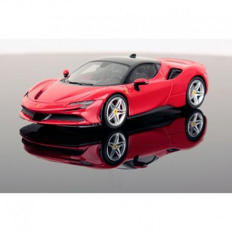Ferrari SF90 Stradale Rosso Corsa Nero DS 12500 Looksmart LS504A
