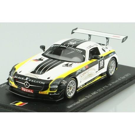 Mercedes SLS AMG GT3 18 24 Heures de Spa 2013 Spark SB041