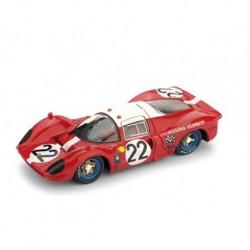 Ferrari 412P 22 24 Heures du Mans 1967 Brumm R161