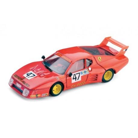 Ferrari 512 BB 47 24 Heures du Mans 1981 Brumm R213