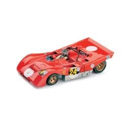 Ferrari 312PB 24 + pilote 1000km de Buenos Aires 1971 Brumm R258-CH