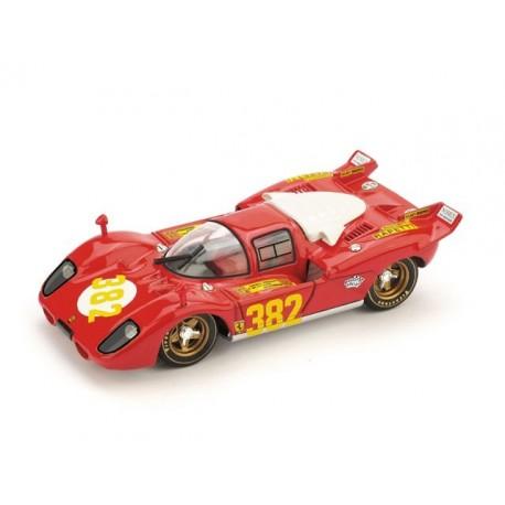 Ferrari 512S 382 Au Rallye Trieste - Opicina 1970 Brumm R518