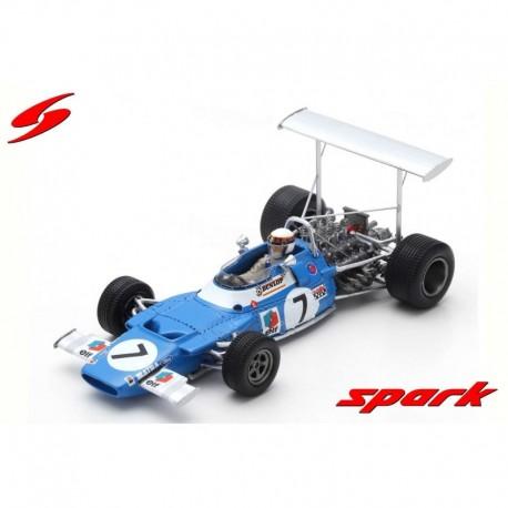 Matra MS80 7 F1 Winner Espagne 1969 Jackie Stewart Spark S7190