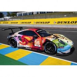 Porsche 911 RSR 56 Winner LMGTE Am Class 24 Heures du Mans 2019 Spark S7942
