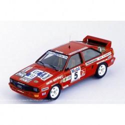Audi Quattro 5 3-Städte-Rallye 1986 Schmidtke Kucken Trofeu TRORRDE08