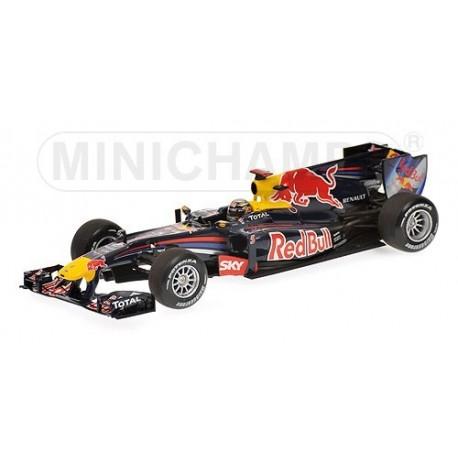 Red Bull Renault RB6 F1 Brésil 2010 Sebastian Vettel Minichamps 410100205