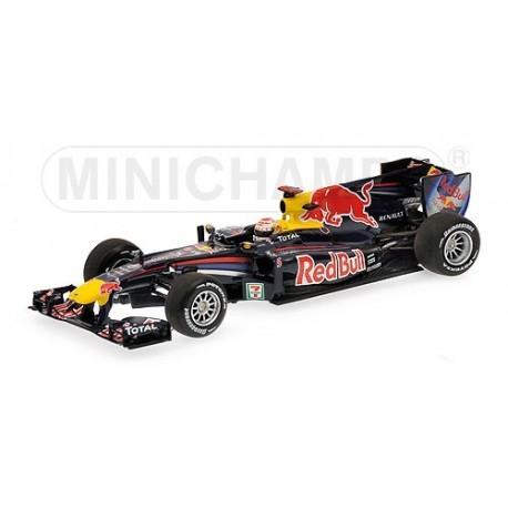 Red Bull Renault RB6 F1 Japon 2010 Sebastian Vettel Minichamps 410100305