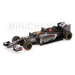 Sauber Ferrari C33 F1 2014 Esteban Gutierrez Minichamps 417140021