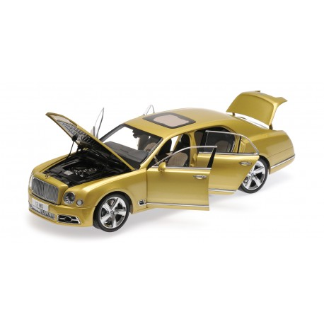 Bentley Mulsanne Speed Gold 2017 Almost Real ALM830101