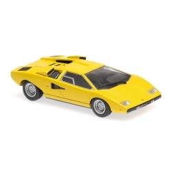 Lamborghini Countach LP400 1970 Yellow Minichamps 940103100