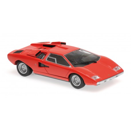 Lamborghini Countach LP400 1970 Red Minichamps 940103101
