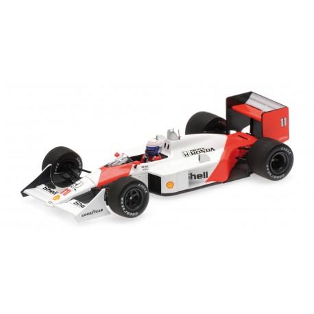 McLaren Honda MP4/4 11 F1 Jacarepagua 1988 Alain Prost Minichamps 537884111