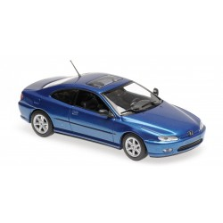 Peugeot 406 Coupe Blue Metallic Minichamps 940112620