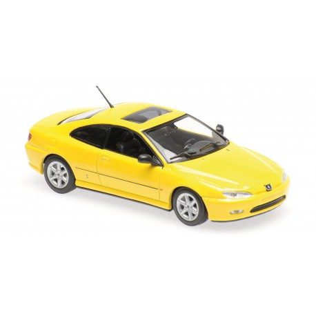 Peugeot 406 Coupe Yellow Minichamps 940112621