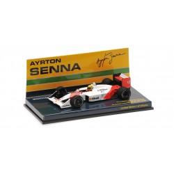 McLaren Honda MP4/4 F1 1st Win with McLaren San Marino 1988 Ayrton Senna Minichamps 547884212