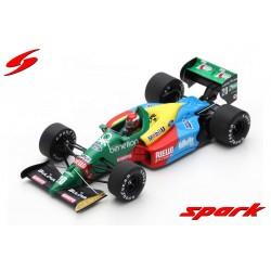 Benetton B188 20 F1 Brésil 1989 Johnny Herbert Spark S5203