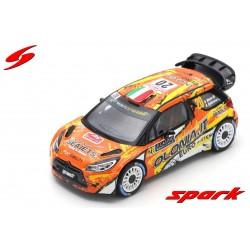 Citroen DS3 WRC 20 Rallye Monte Carlo 2019 Miele Beltrame Spark S5987