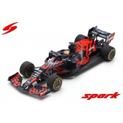 Aston Martin Red Bull Honda RB15 F1 Test Car Silverstone 2019 Max Verstappen Spark S6084