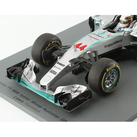 Mercedes W06 F1 Australie 2015 Lewis Hamilton Spark 18S173