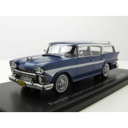 Rambler customs Cross Country 6 Station Wagon 1956 Metallic dunkelblau and white NEO NEO44667