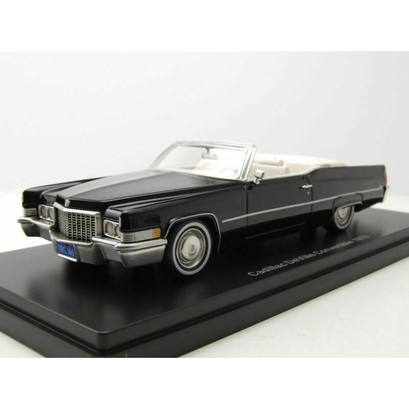 Cadillac Deville Convertible 1970 Black NEO NEO47146