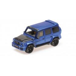 Brabus 900 based on G65 Dark Blue 2017 Minichamps 437037404