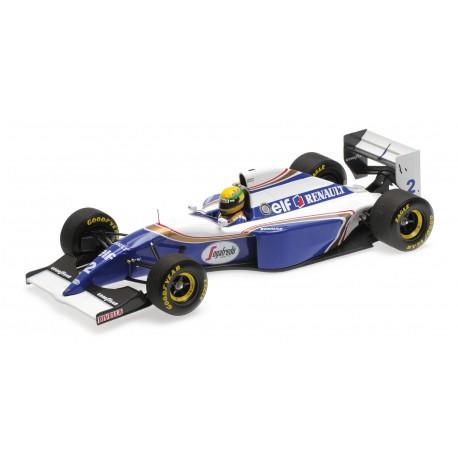 Williams Renault FW16 2 F1 Brésil 1994 Ayrton Senna Minichamps 540941821
