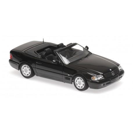 Mercedes Benz SL 1999 Black Minichamps 940033031