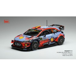 Hyundai i20 WRC 11 Winner Tour de Corse 2019 Neuville Gilsoul IXO RAM711