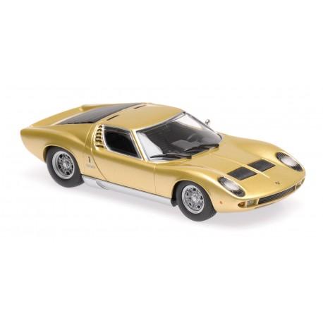 Lamborghini Miura 1966 Gold Minichamps 940103002
